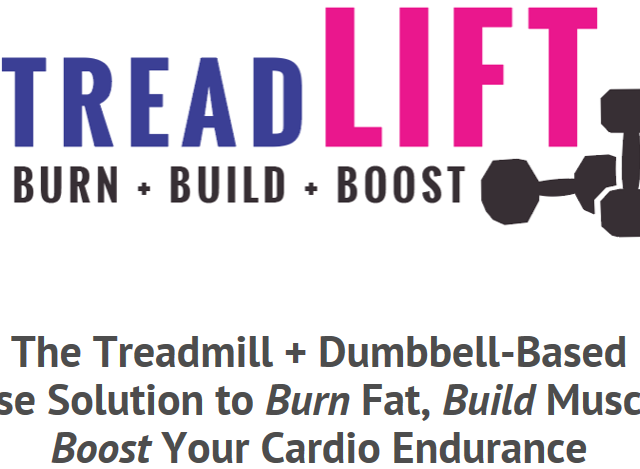 Treadmill and Dumbbell Exercise